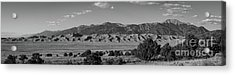 Great Sand Dunes National Park Panorama  Acrylic Print