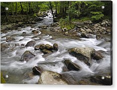 Greenbrier In The Great Smoky Mountains Acrylic Print by Darrell Young