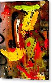 Growing Acrylic Print by Angela L Walker