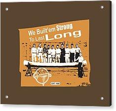 Grumman Canoe Acrylic Print