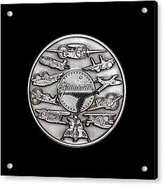 Grumman Coin Acrylic Print