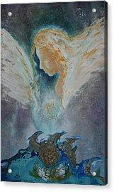 Angelic Encounters  Acrylic Print