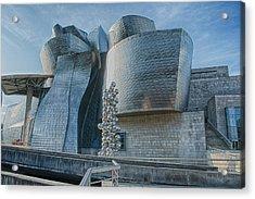 Guggenheim Museum Bilbao Spain Acrylic Print by James Hammond