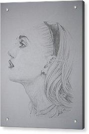 Gwen Stefani Acrylic Print by Sean Leonard