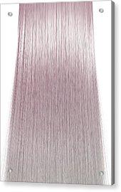 Hair Perfect Straight Acrylic Print by Allan Swart