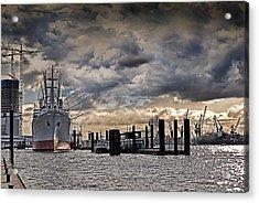 Hamburg Harbor Acrylic Print