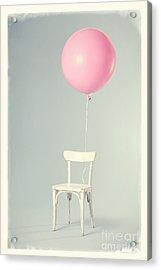 Happy Birthday Card Acrylic Print by Edward Fielding