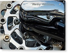 Acrylic Print featuring the photograph Harley Davidson 15 by Wendy Wilton