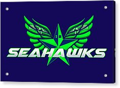 Hawks Wings Acrylic Print