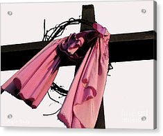 Acrylic Print featuring the photograph He Is Risen by Douglas Stucky