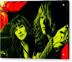 Heart Ann And Nancy Wilson Collection Acrylic Print by Marvin Blaine
