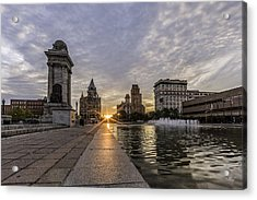 Heart Of The City Acrylic Print by Everet Regal
