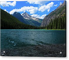Heavan's Peak From Avalanche Lake Acrylic Print