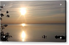 Acrylic Print featuring the photograph Heavenly Kayak by Pat Purdy