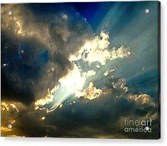 Heavenly Sky Acrylic Print by Krissy Katsimbras