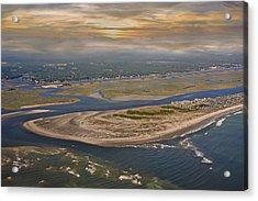 Heaven's View Topsail Island Acrylic Print