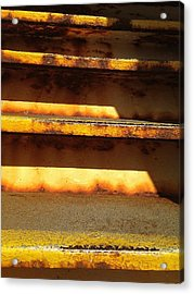 Acrylic Print featuring the photograph Heavy Metal by Olivier Calas