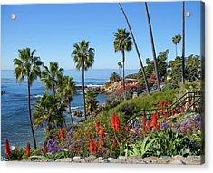 Heisler Park, Laguna Beach Acrylic Print