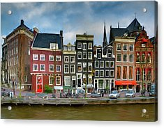 Acrylic Print featuring the photograph Herengracht 411. Amsterdam by Juan Carlos Ferro Duque