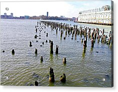 High Line Print 9 Acrylic Print by Terry Wallace