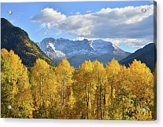 Acrylic Print featuring the photograph Highway 145 Colorado by Ray Mathis