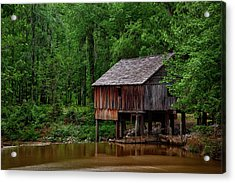 Historic Rikard's Mill - Alabama Acrylic Print by Mountain Dreams