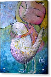 Hold Your Peace Acrylic Print
