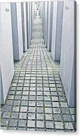 Holocaust Memorial Acrylic Print by Tom Gowanlock