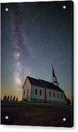 Acrylic Print featuring the photograph Holy  by Aaron J Groen