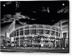 Home Of The Cleveland Indians Acrylic Print