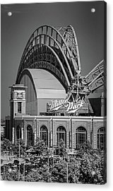 Home Of The Milwaukee Brewers Acrylic Print