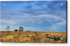 Acrylic Print featuring the photograph Homestead by Tim Nichols