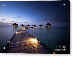Acrylic Print featuring the photograph Honeymooners Paradise by Hannes Cmarits