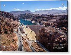 Hoover Dam Acrylic Print by RicardMN Photography