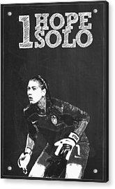 Hope Solo Acrylic Print