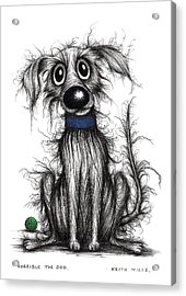 Horrible The Dog Acrylic Print