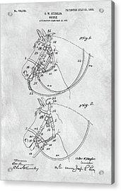 Horse Bridle Patent Acrylic Print