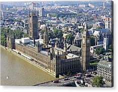 Houses Of Parliament Acrylic Print by Tony Murtagh