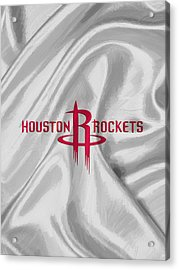 Houston Rockets Acrylic Print by Afterdarkness