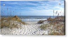 Huntington Beach South Carolina Acrylic Print by Kathy Baccari