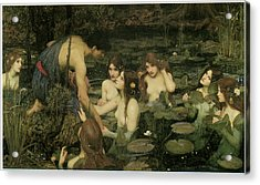 Hylas And The Nymphs Acrylic Print