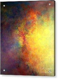 I Am Acrylic Print by Johnny Johnston