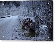 Ice Bridge Acrylic Print