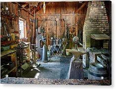 Acrylic Print featuring the photograph Idle by David Buhler
