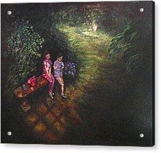 If Cinderella Had A Garden Acrylic Print