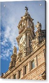 Acrylic Print featuring the photograph Iglesia De Los Santos Juanes Valencia Spain by Joan Carroll