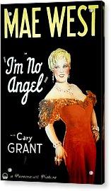 Im No Angel, Mae West, 1933 Acrylic Print by Everett