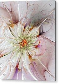 In Full Bloom Acrylic Print by Amanda Moore