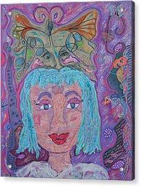 In Her Eyes Acrylic Print by Marlene Robbins