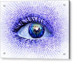In The Eye Of The Beholder Acrylic Print by Robby Donaghey